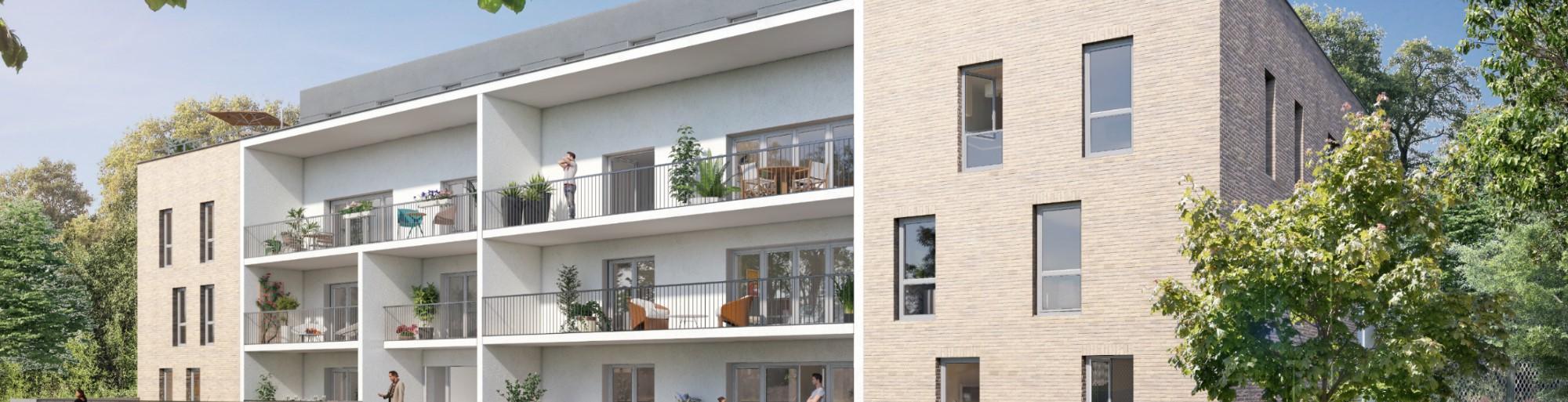 Achat location de maisons et appartements neufs sur reims for Location maison reims et alentours