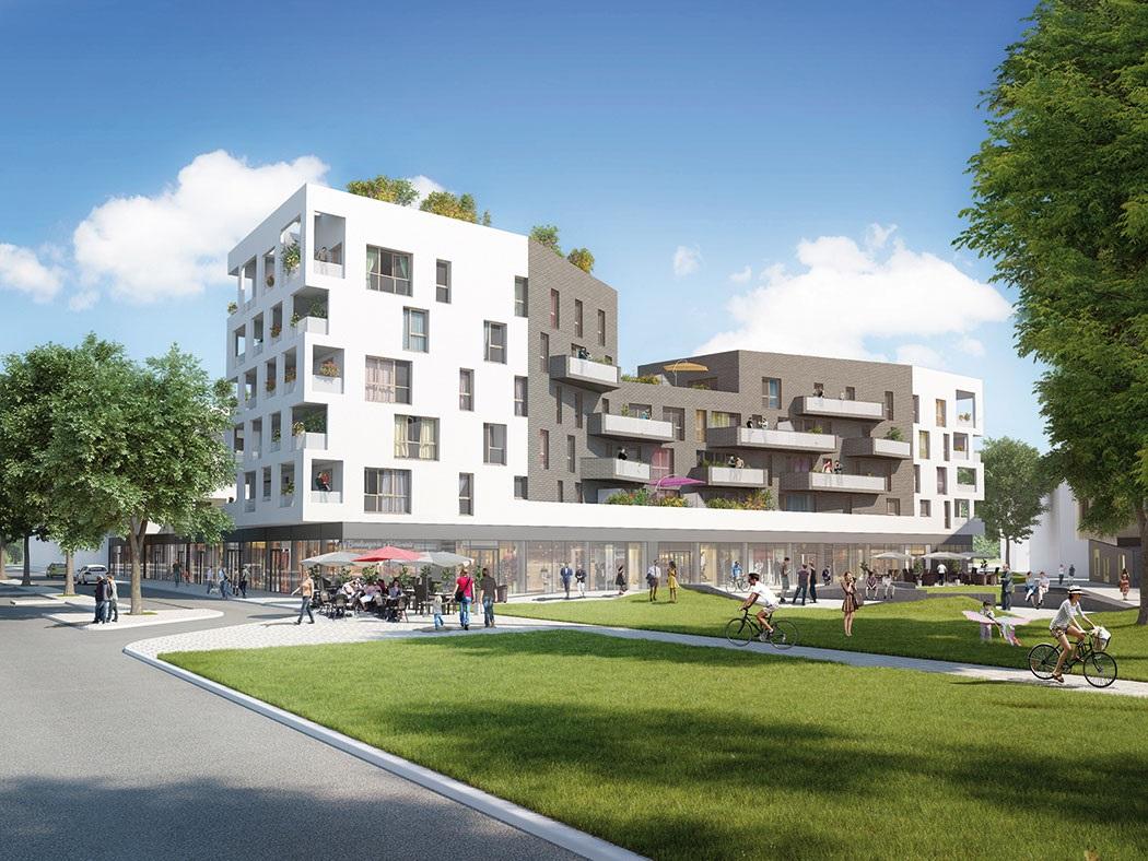 R sidence n o 39 vert reims 51 programme immobilier neuf for Residence neuf