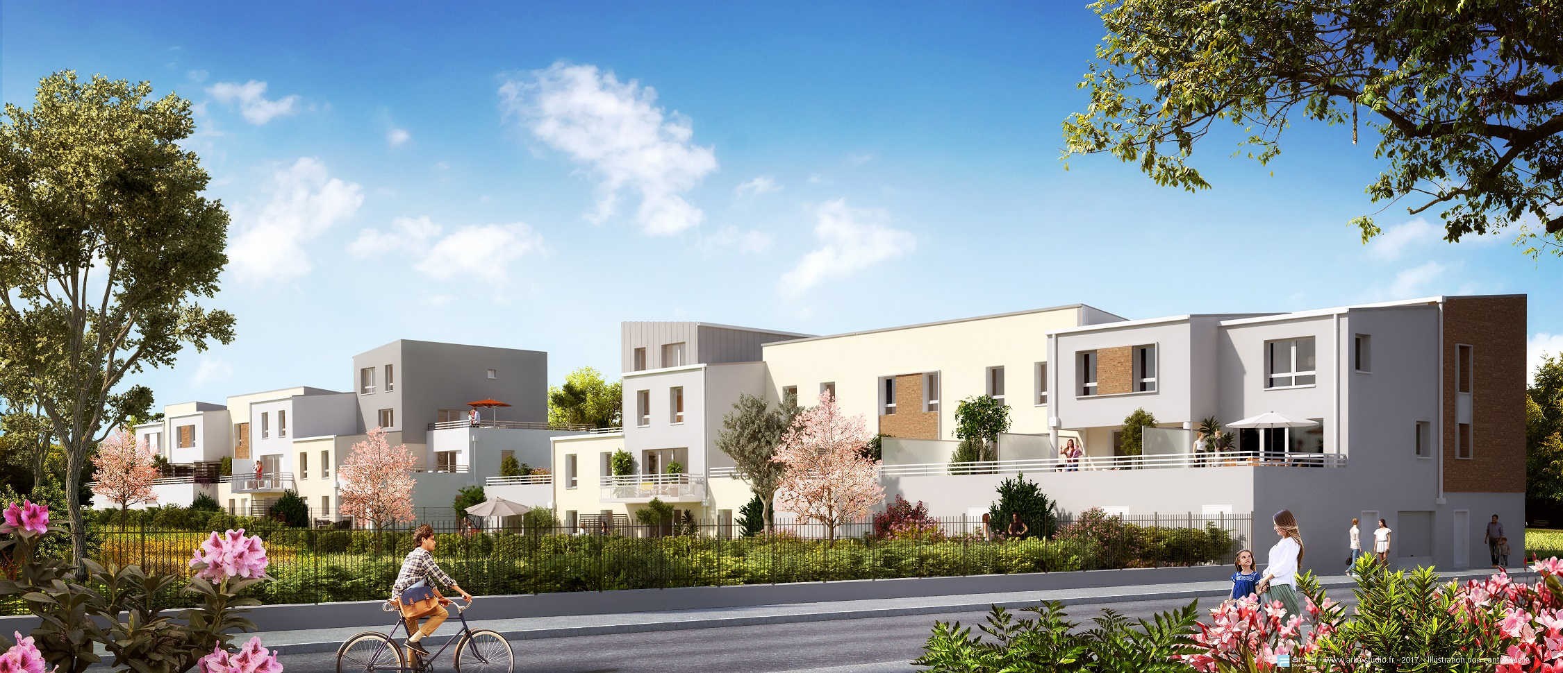 Garden city reims programme immobilier neuf reims for Programme immobilier