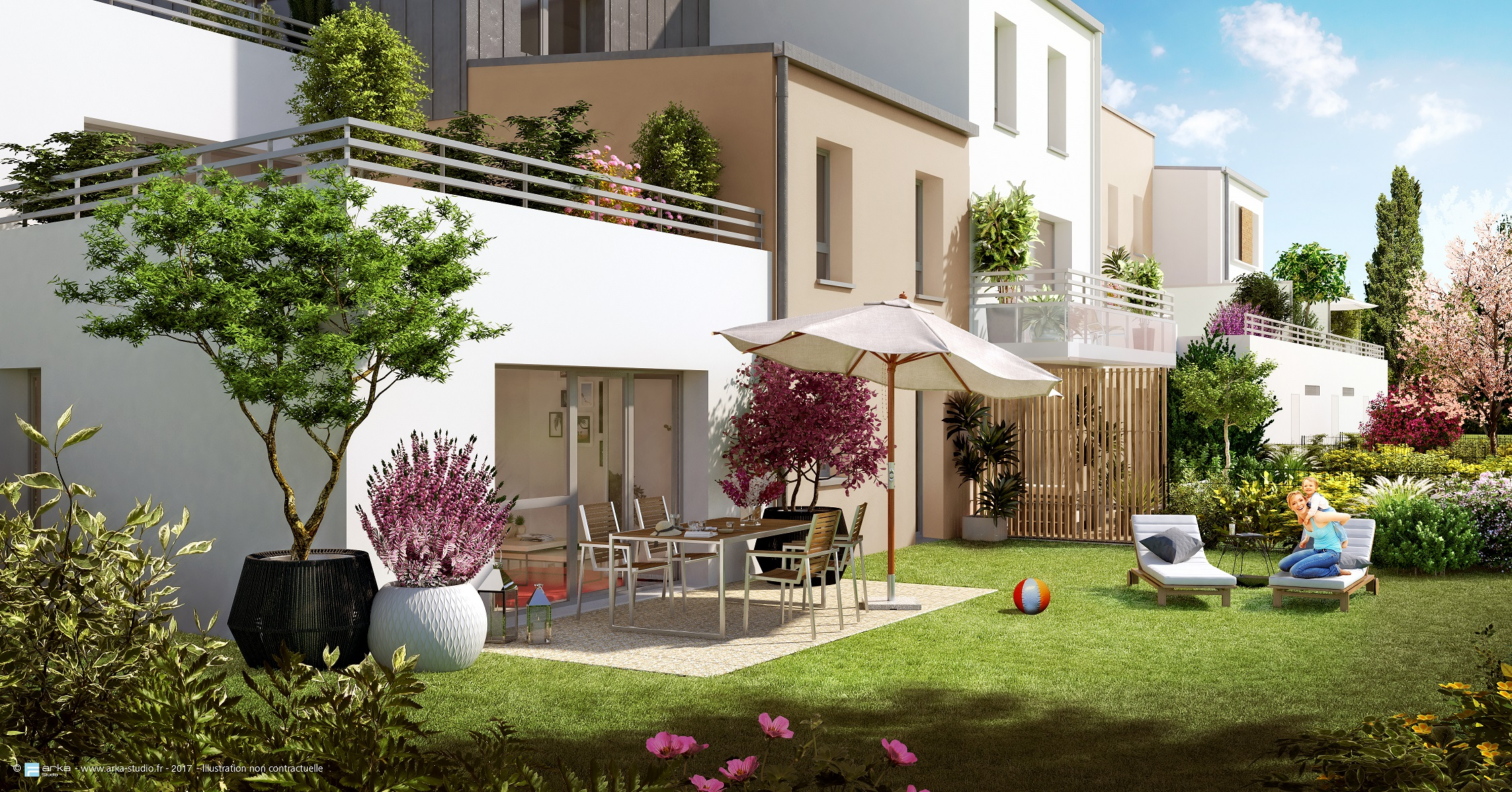 Garden city reims programme immobilier neuf reims 51100 plurial immo - Maison jardin morgan city reims ...