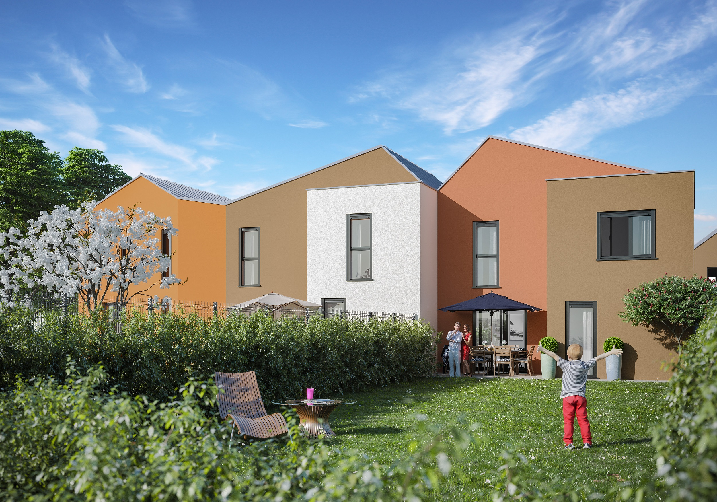Les colorines reims programme immobilier neuf 51100 for Immo immobilier